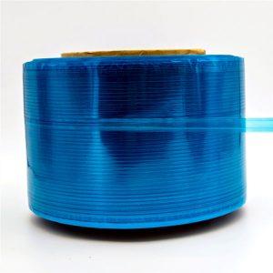 Blue Film Courier Bag Zigilatzeko Zinta